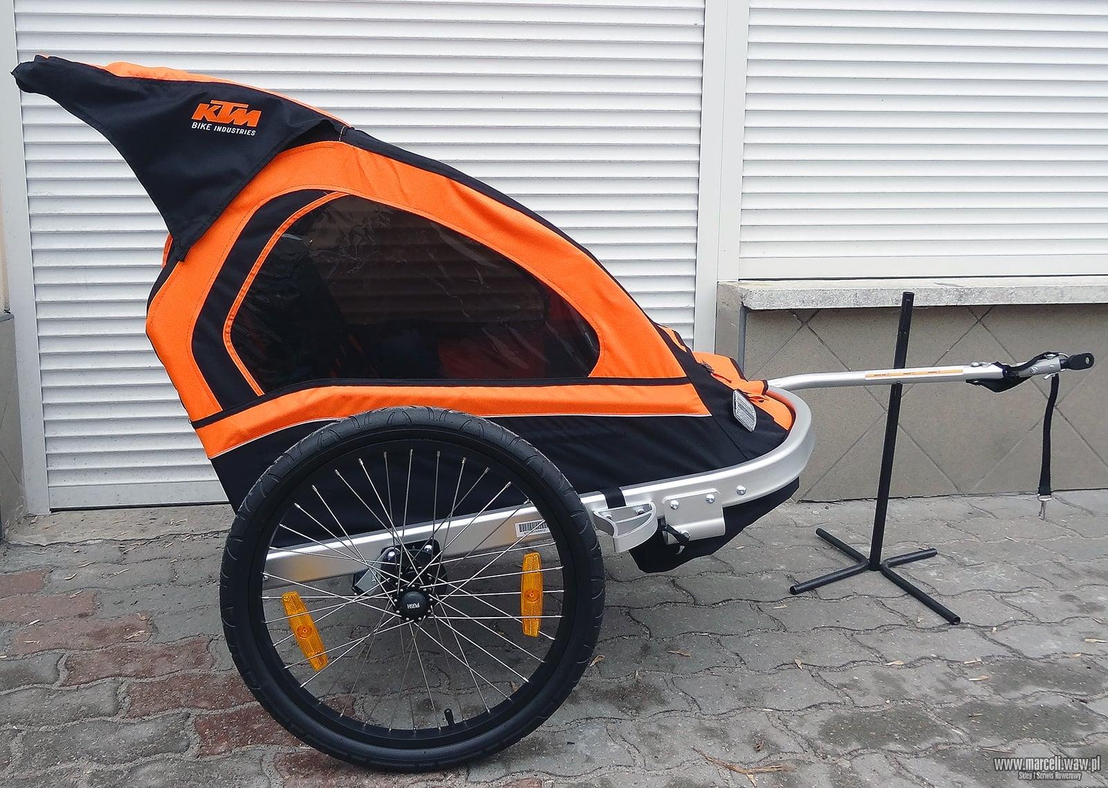 Przyczepka rowerowa, przyczepka do roweru